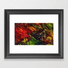Red Storm II Framed Art Print