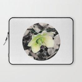 Hellebore Flower Mandala Laptop Sleeve