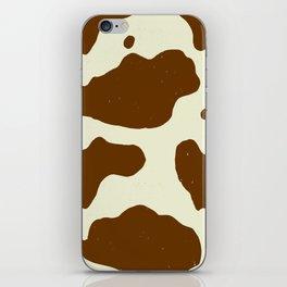 Cowhide iPhone Skin