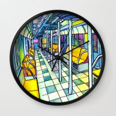 Love NYC's everything No. 5 Wall Clock