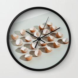 Egg shells Wall Clock
