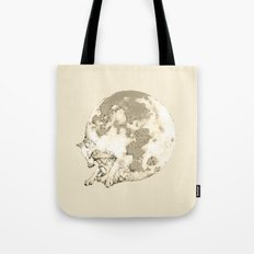 In which a wolfy moon thing happens Tote Bag