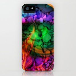 Stoned flame iPhone Case