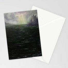 Sunbreak over Urquhart Castle Stationery Cards