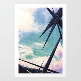 Sky Holidays Art Print