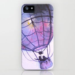 Fly Away With Me iPhone Case