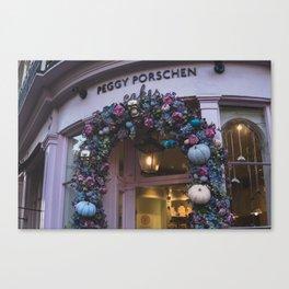 Cute Cafes Canvas Print