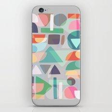 Pastel Geometry 2 iPhone & iPod Skin
