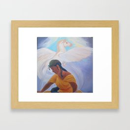The Dream (of the Doomed Priestess) Framed Art Print