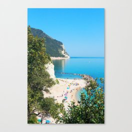 Spiaggia San Michele Canvas Print