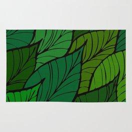 Lush / Leaf Pattern Rug