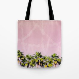 Row of Palms Tote Bag