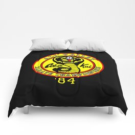 cobra kai karate clan Comforters