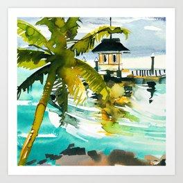 Seascape #1 Art Print