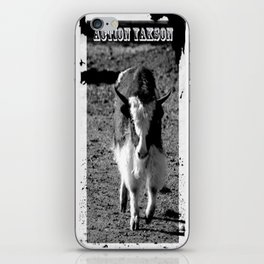 Action Yakson: King of the Yaks iPhone Skin