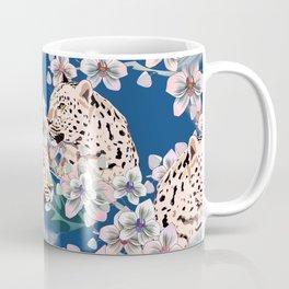 leopard in the jungle Coffee Mug