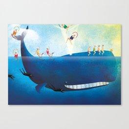 La balena Canvas Print