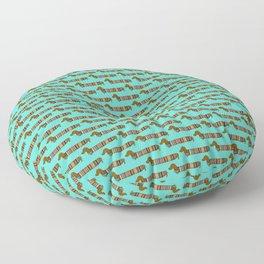 Wiener Dog Floor Pillow