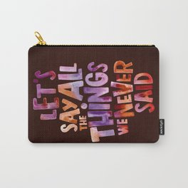 All The Things Carry-All Pouch