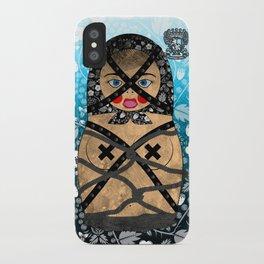 Bondage Matryoshka/Nesting Doll iPhone Case