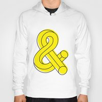 ampersand Hoodies featuring Ampersand by MADEYOUL__K