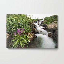 Lomond Falls Metal Print