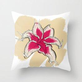 Flora/Fauna Throw Pillow