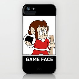 Alex Kidd - Game Face iPhone Case