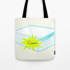 Cotter pin in the rotter bin! Tote Bag