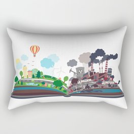 EcoBook Rectangular Pillow