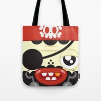 Pirate in Love Tote Bag