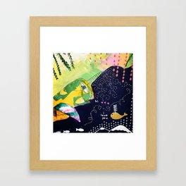 Hi. I love you. Framed Art Print