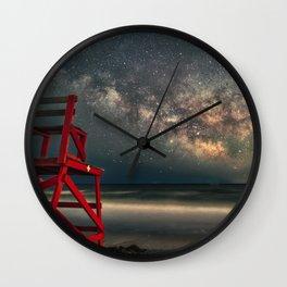 Milkyway at Good Harbor Beach 6-11-18 Wall Clock