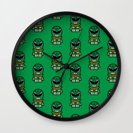 Power Chibi Green Ranger Wall Clock