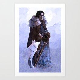 It's Winter Time Art Print