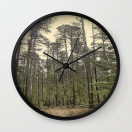 LODGEPOLE PINE Wall Clock