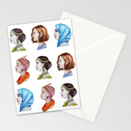 Women for the world Stationery Cards