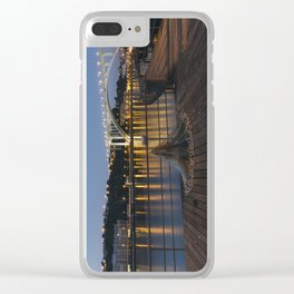 Arrabida bridge (IV) Clear iPhone Case
