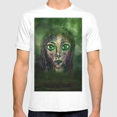 The Look White Mens Fitted Tee MEDIUM