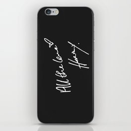 All The Love - Harry Styles iPhone Skin