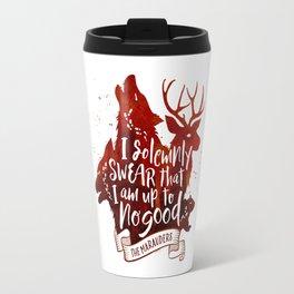 I solemnly swear - white Travel Mug