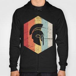 Retro Sparta Helmet Icon Hoody