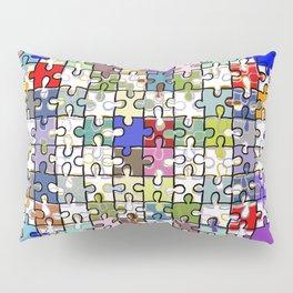 Jigsaw junkie Pillow Sham