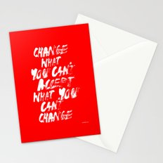 Accept / Change Stationery Cards