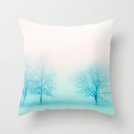 When in Winter Throw Pillow