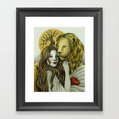 By Sunset Framed Art Print