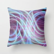 Lightlines softly Throw Pillow