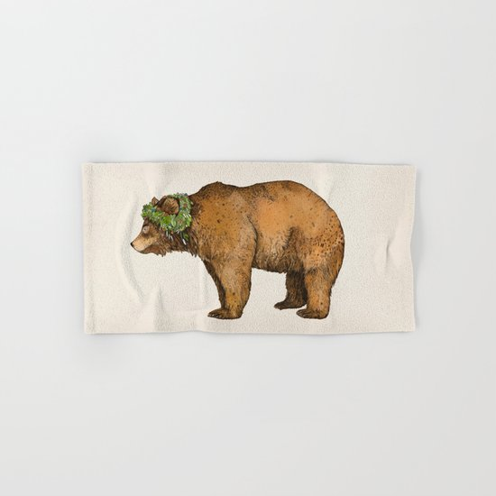 BROWN BEAR Hand & Bath Towel