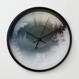 Forest lullaby Wall Clock