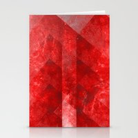 discount Stationery Cards featuring Ruby Nebulæ by Aaron Carberry